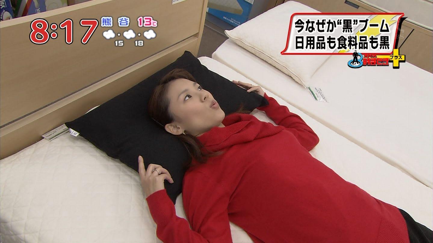 米田やすみ 朝ズバッ! 12/12/18 - 女子アナキャプでも貼っておく