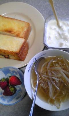 日曜の朝食