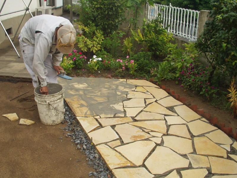庭園改修現場4
