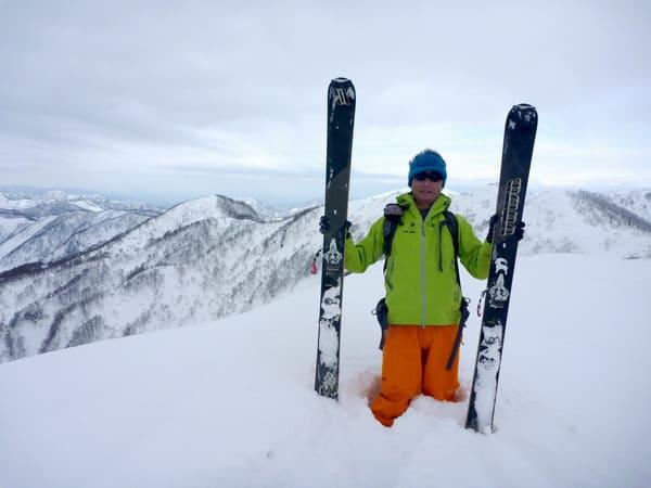 山スキー安全祈願 - 自然の慣性...