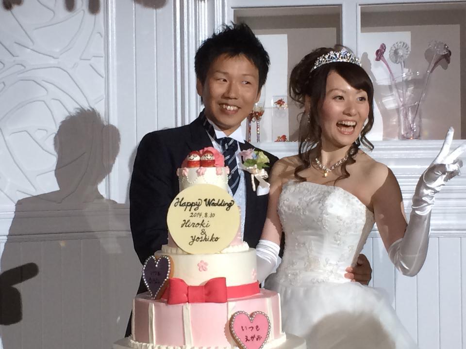 内田君の 結婚式 8月 30日 の 2次会 で・・・