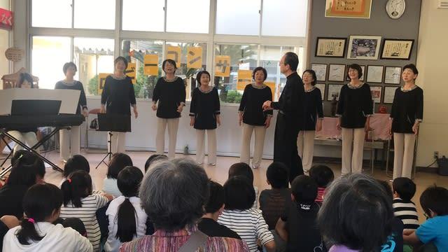 第46回雪浦小学校ロビーコンサート「コーロあやめ 」 音楽っていいね!!