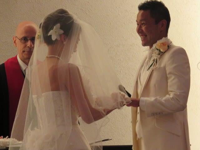 結婚式からの新婚旅行ではなく… ...