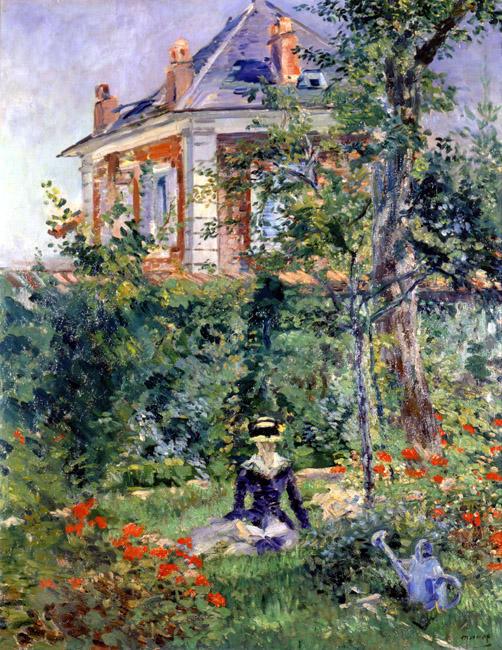 Edouard_manet__girl_in_the_garden_a