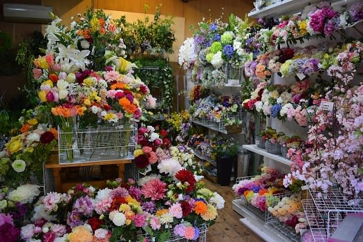 造花 アートフラワーコサージュ 造花ココーフラワー横浜 店舗 ショールーム