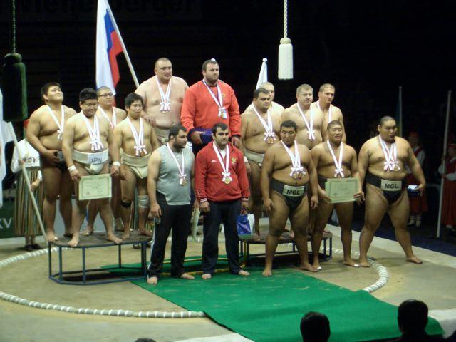 第16回世界相撲選手権大会(エス...