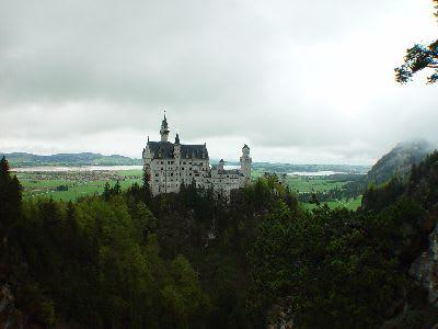 ドイツ・フュッセンの世界遺産ノイシュヴァンシュタイン城