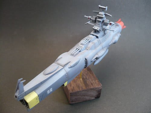 メカコレ 主力戦艦製作③ ついに完成しました!! - 田舎おやじの模型時代