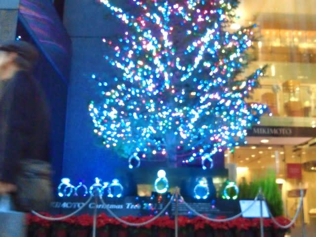 【ミキモトのジャンボクリスマスツリー】