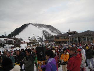 スキー場。ズラッと。何気に要綱チラシをもらってないなぁ・・・
