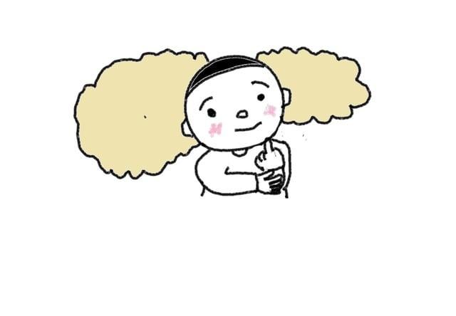 動詞 25課 考えます スーザンの 日本語教育 手描きイラスト