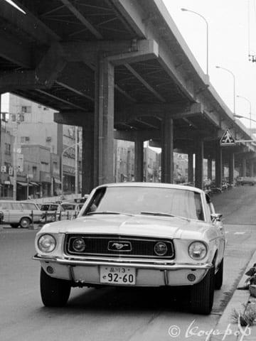 Ford Mustang 1968 少し変わっただけの1968年型フォード マスタング ...