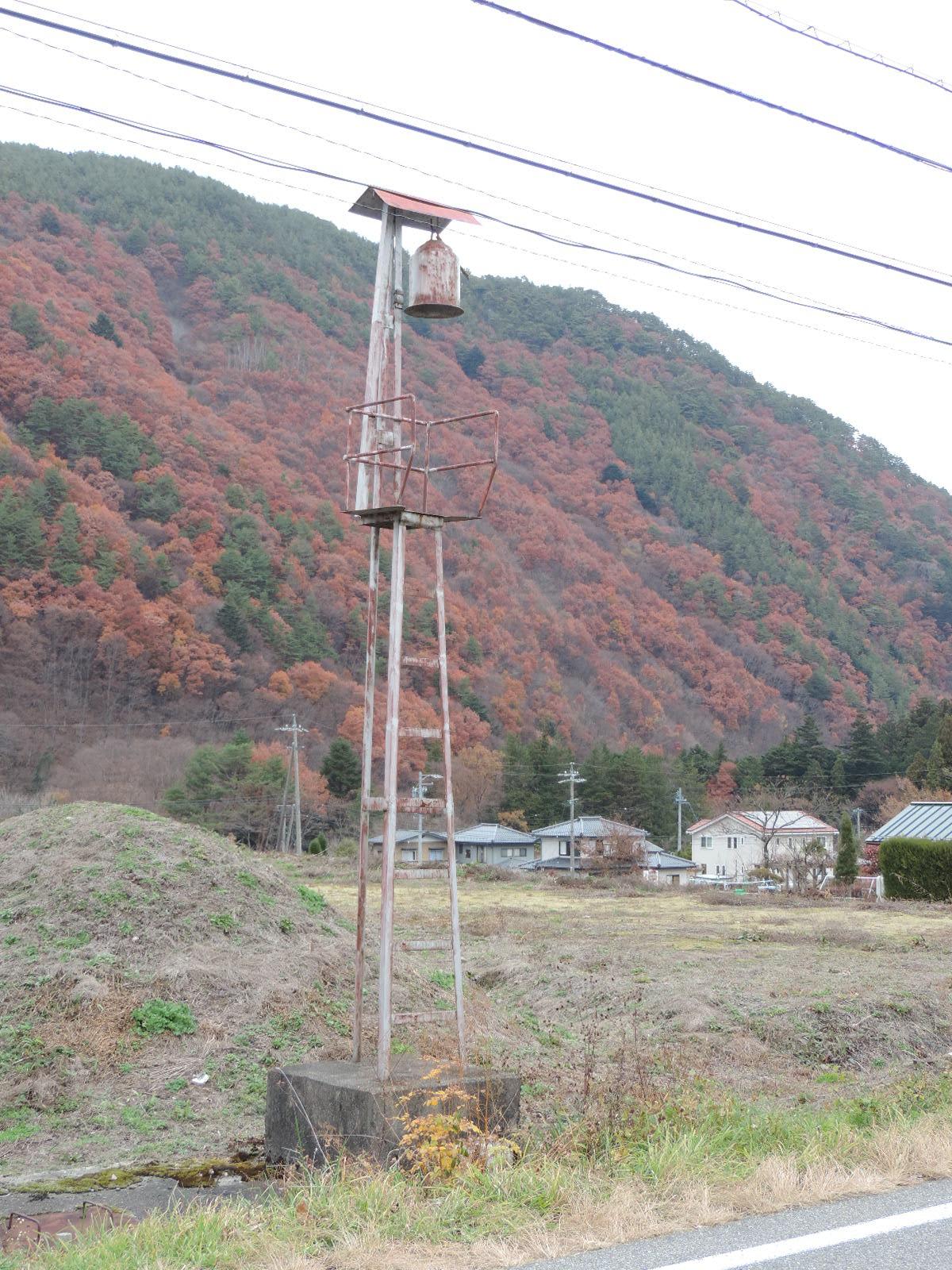 木曽町日義の火の見櫓 - 透明タ...