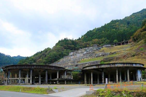 神子畑選鉱所跡」&「ムーセ旧居...