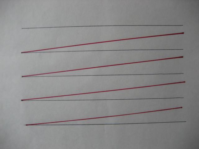 字を上手に書くコツ 角度6度 - ...