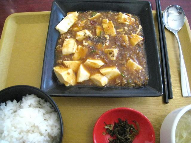 日替わりAセット(麻婆豆腐)