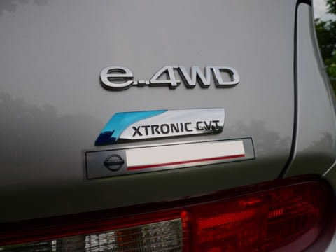 4WDのCVT