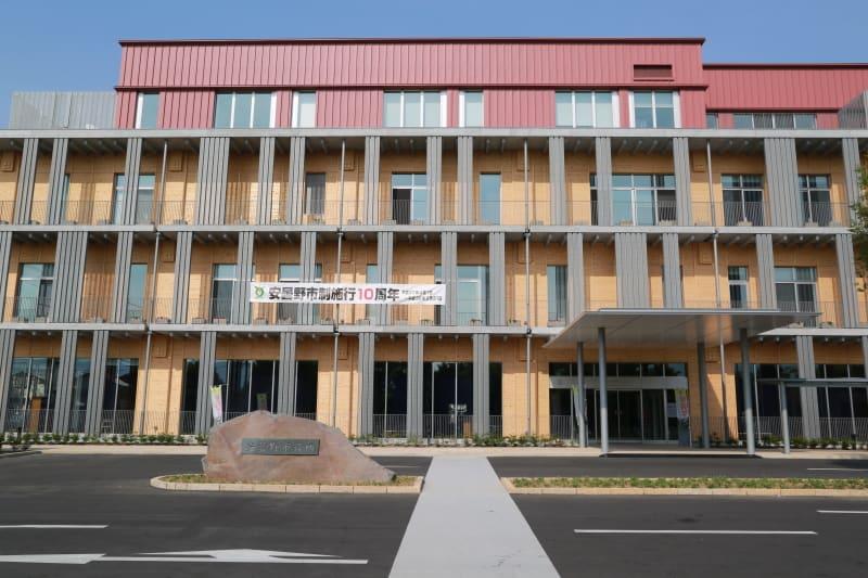 安曇野市役所新庁舎(安曇野市豊...