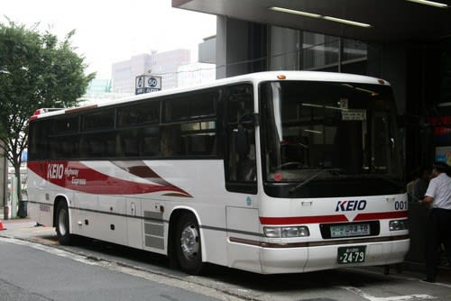 続!「中央高速バス」のリアサボ...