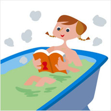 「半身浴で痩せられるのか? ←この記事どう」の質問画像