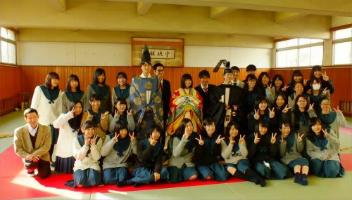 千葉県立成田国際高校装束体験 -...