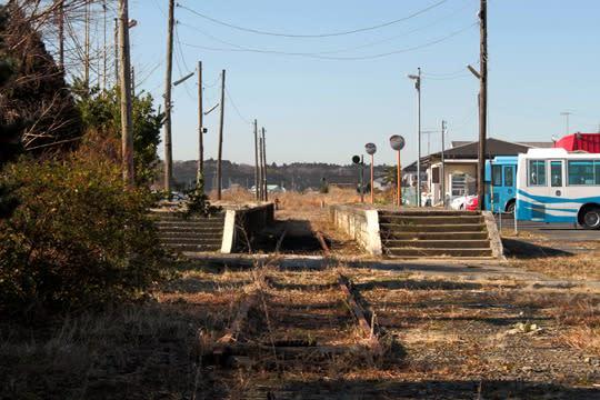 鹿島鉄道線 #05 鉾田駅跡 - 黒沢...