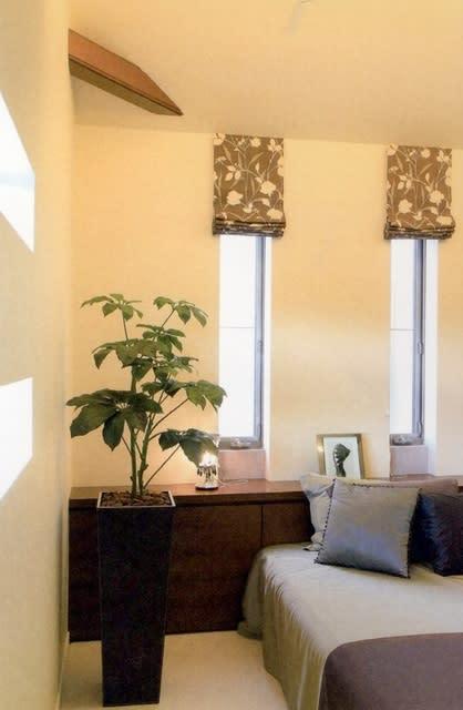 寝室 おしゃれで癒しの 人工観葉植物 フェイクグリーン造花