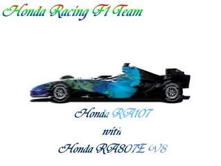 F1 2007年チームインフォメーシ...
