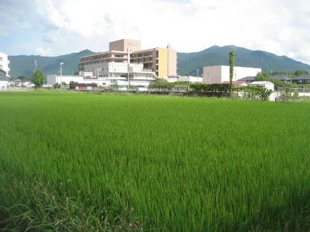 直方の病院のある風景~直方中央病院 - 私の直方の風景