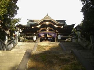 護国神社拝殿