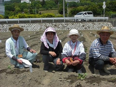 農業サポーターさん集合写真