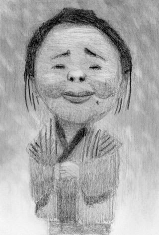 泉ピン子の似顔絵