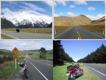 ニュージーランドバイクツーリング