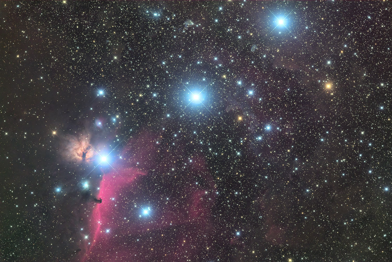 The three kings of the Orion's...