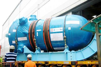 シナ 第3世代原子炉AP1000の検査...