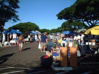 ハワイ3日目スワップミート3