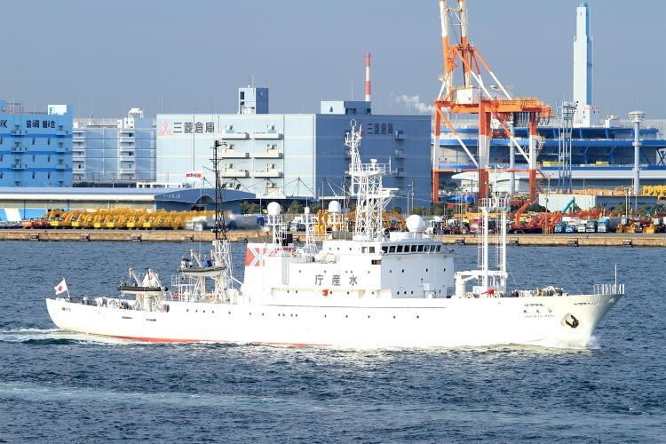 水産庁 漁業取締船〝 白竜丸 〟 ...