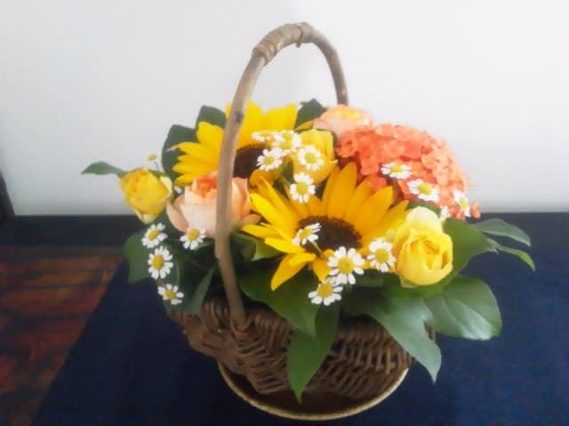 手土産のお花