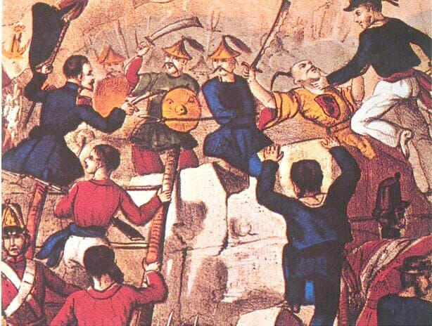 1856年 〈アロー戦争勃発〉☆ - ベック式!大学受験暗記法ブログ TOP