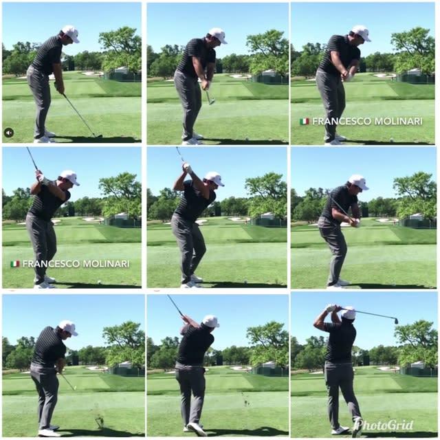 写真 ゴルフ スイング 連続