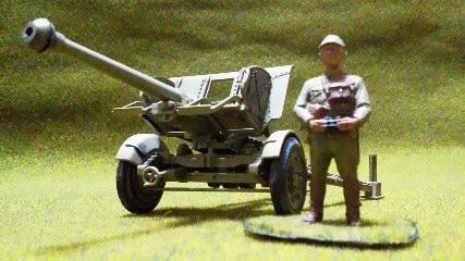 日本陸軍機動九0式野砲1/35 - 模...