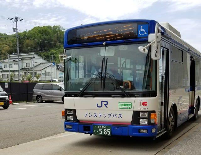 交通系ICカードが利用できる西日本ジェイアールバス
