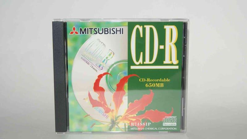 MITSUBISHI 三菱化学 650MB CD-R...
