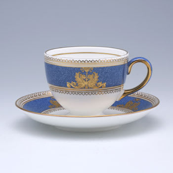 コーヒーカップ(54) : ウェッジウッド コロンビア パウダーブルー