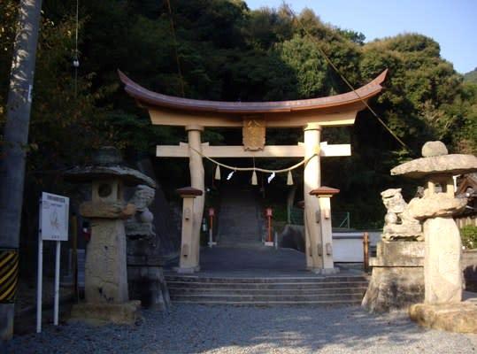 船津神社」と「大歳神社」 - 「一歩」