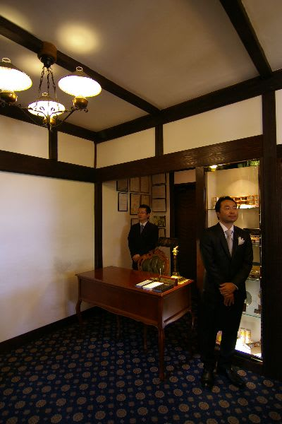 寺子屋の内部