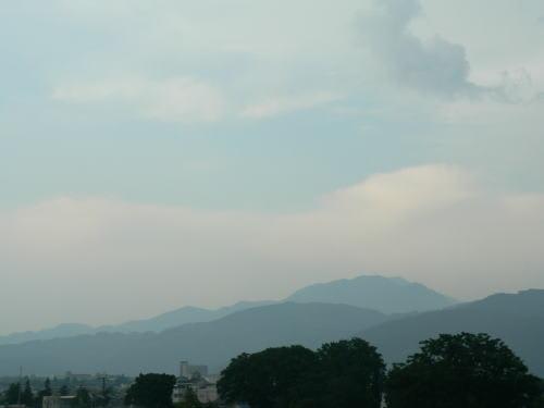 筑摩山地の山並み - mt77のblog