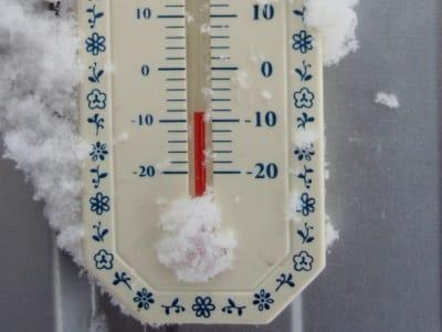 大雪の旭川 最高気温は氷点下8.7...