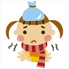 「風邪をひいたらお風呂はダメなの? ←この」の質問画像