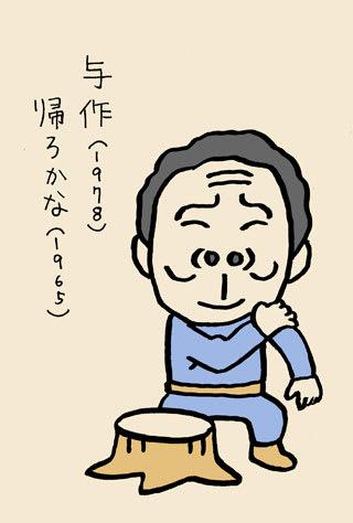 北島三郎の似顔絵